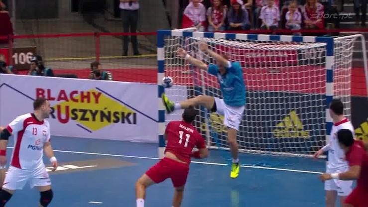 2016-04-09 Nowy konkurent dla Szmala? Jachlewski bramkarzem!
