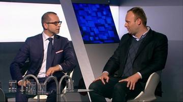 Nieoczekiwana zmiana miejsc w studiu Polsat News