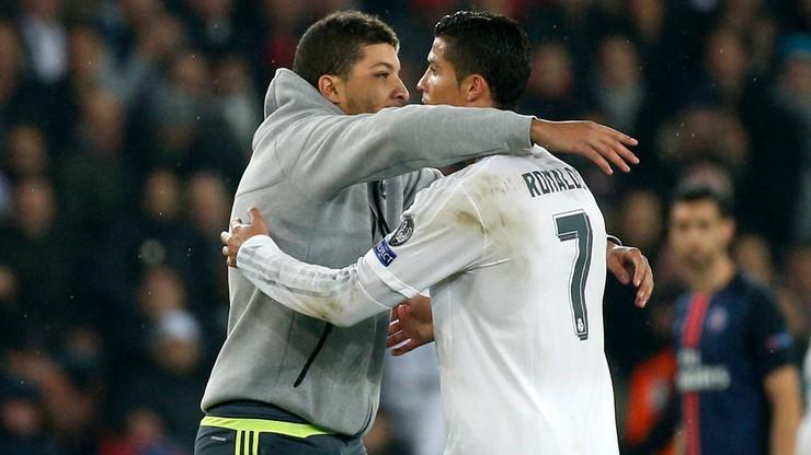 Rok więzienia dla fana, który przytulił Cristiano Ronaldo?