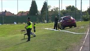 Samochód wjechał w pieszych w Newcastle, sześć osób rannych