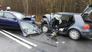 2017-11-01 Śmierć na drodze. Nieprawidłowe wyprzedzanie przyczyną wypadku