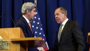 10-09-2016 06:24 Kerry i Ławrow uzgodnili wstrzymanie działań bojowych w Syrii