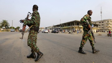 08-01-2017 06:07 Dwudniowa rewolta w Wybrzeżu Kości Słoniowej. Zbuntowani żołnierze uwolnili ministra