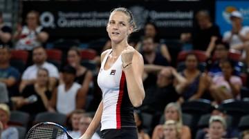 2017-01-06 Turniej WTA w Brisbane: Cornet i Pliskova w finale