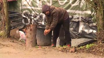 """27-01-2016 21:38 """"Francuska dżungla"""" i """"obóz wstydu"""", czyli dramatyczna sytuacja w Calais"""