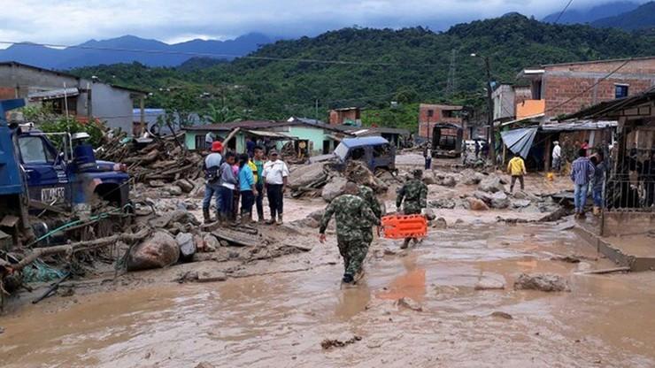 Zginęli pod lawiną błota. Już ponad 200 ofiar w Kolumbii