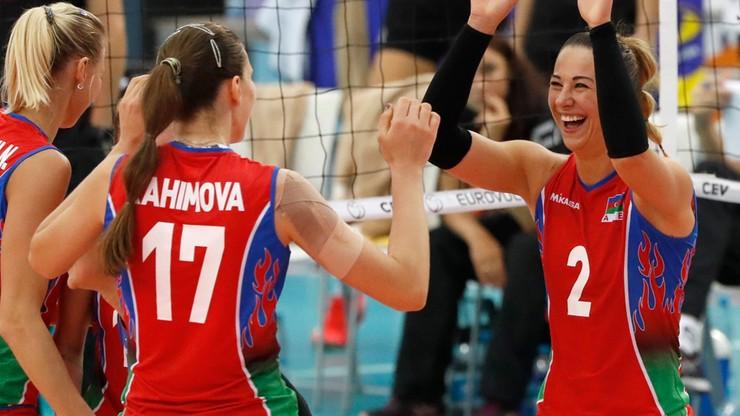 ME siatkarek: Azerki gładko rozprawiły się z Niemkami, trzeci błyskawiczny ćwierćfinał