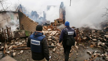 26-02-2017 17:54 USA potępiły atak na misję OBWE na wschodzie Ukrainy