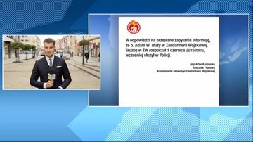Były policjant z zarzutami ws. śmierci Igora Stachowiaka pracuje w Żandarmerii Wojskowej
