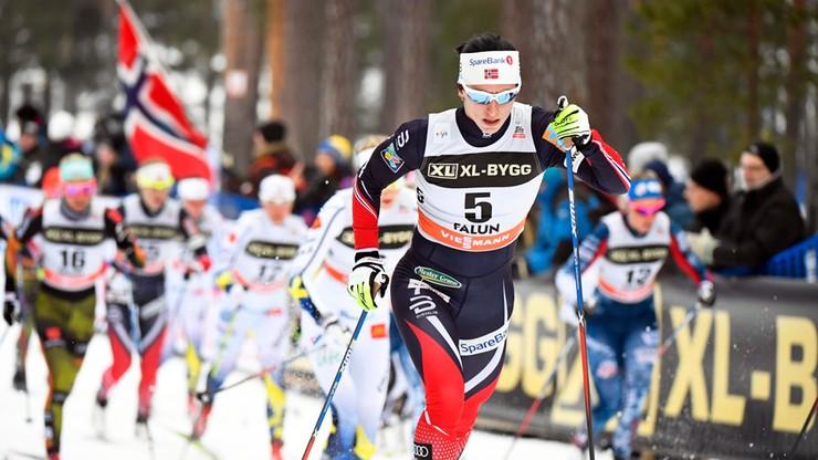 Bjoergen znowu zdeklasowała rywalki w mistrzostwach Norwegii