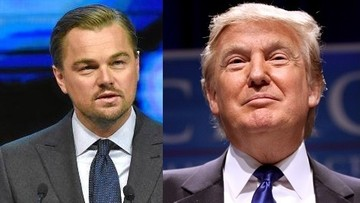 06-10-2016 10:10 DiCaprio zaatakował Trumpa. Poszło o globalne ocieplenie