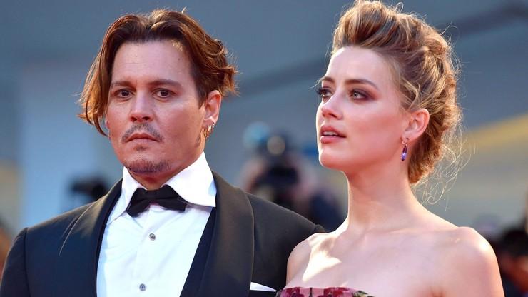 Depp pobił Heard? Żona aktora pokazuje zdjęcia