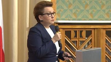 """17-09-2016 16:17 """"Reforma edukacji to eksperyment na dzieciach"""". SLD domaga się dymisji minister Zalewskiej"""