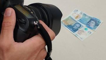 Nowy banknot o nominale 5 funtów osiągnął na aukcji cenę 65 tys. funtów