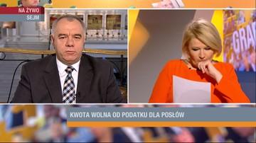 Sasin: opodatkowanie diet poselskich uderzy w Polaków