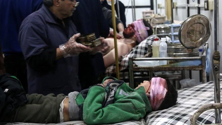 WHO: oznaki użycia środka paralityczno-drgawkowego w Syrii