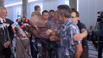 Przerwana konferencja wicemarszałak Sejmu. Doszło do bójki