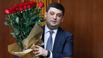 14-04-2016 13:18 Hrojsman nowym premierem Ukrainy