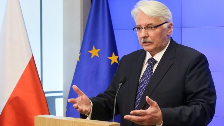 Waszczykowski: potrzebne są nowe traktaty europejskie