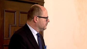 Prezydent Gdańska Paweł Adamowicz odmówił przed sądem składania wyjaśnień