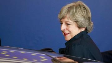 2017-10-20 Negocjacje ws. Brexitu na szczycie UE utknęły w martwym punkcie. Premier May: najważniejszym priorytetem prawa obywateli