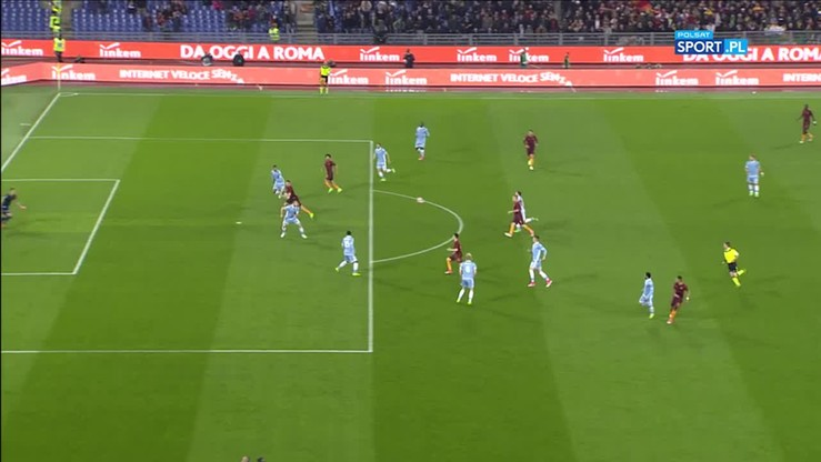 AS Roma - Lazio 3:2. Skrót meczu