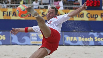 2016-11-02 Beach soccer: Polska - Brazylia. Transmisja w Polsacie Sport Extra