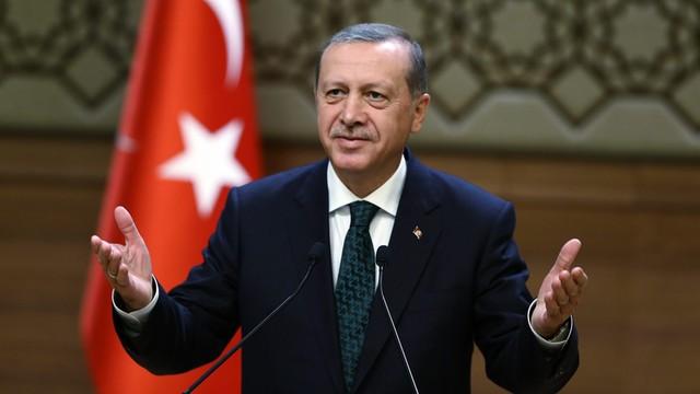 Erdogan o sytuacji w Syrii - Zachód, Rosja i Iran dbają tylko wo własne interesy