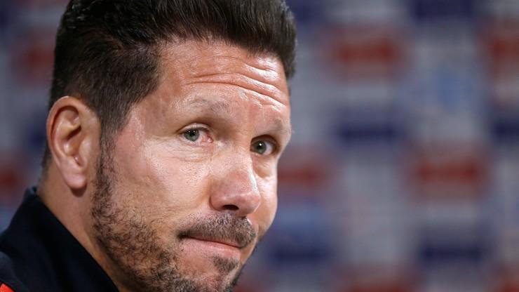 Atletico bez Simeone na ławce trenerskiej do końca sezonu?
