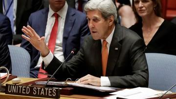 28-09-2016 17:39 USA zamrożą kontakty z Rosją, jeśli nie przerwie bombardowań Aleppo