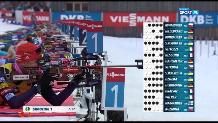 Triumf Makarainen, Nowakowska w trzeciej dziesiątce. Skrót wyścigu na 12,5 km ze startu wspólnego