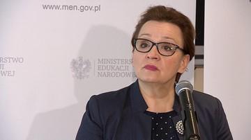 """15-05-2017 17:28 """"Doszło do dramatycznego zdarzenia"""". Szefowa MEN o pobiciu gimnazjalistki w Gdańsku"""