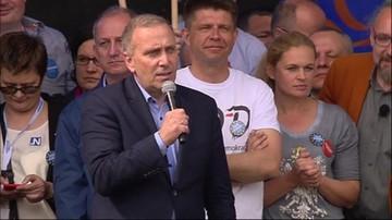 Schetyna: nie pozwolimy Jarosławowi Kaczyńskiemu oddzielić nas od Europy