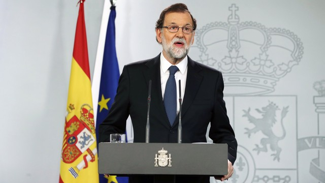 Premier Hiszpanii: nie było referendum niepodległościowego w Katalonii