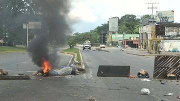 18 aresztowano, 23 wciąż jest poszukiwanych. W związku z atakiem na bazę wojskową w Wenezueli