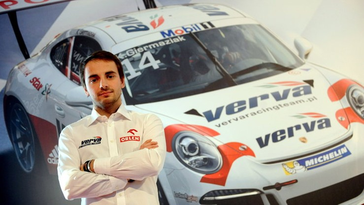 Giermaziak wystartuje w 24-godzinnym wyścigu w Le Mans