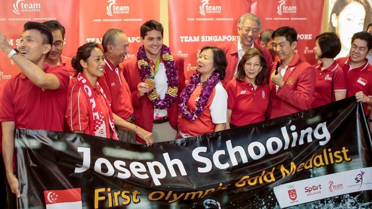 Rio: wygrał z królem i Singapur zgotował mu królewskie powitanie