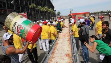 To miała być najdłuższa pizza świata. Rekord wciąż jednak należy do Neapolu