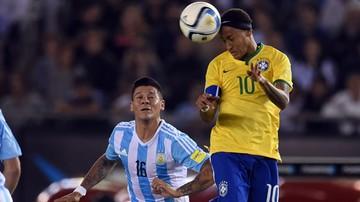 2015-11-14 Bez zwycięzcy w hicie Argentyna - Brazylia