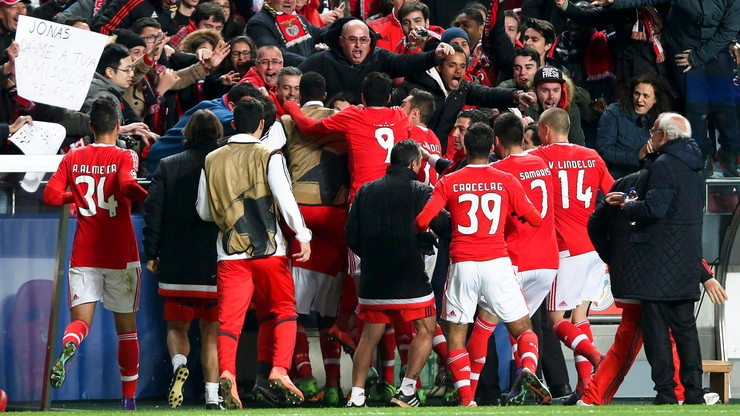Liga Mistrzów: Benfica w ćwierćfinale!