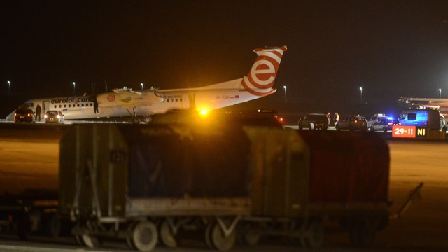 Awaryjne lądowanie na Lotnisku Chopina. Nikt nie został ranny