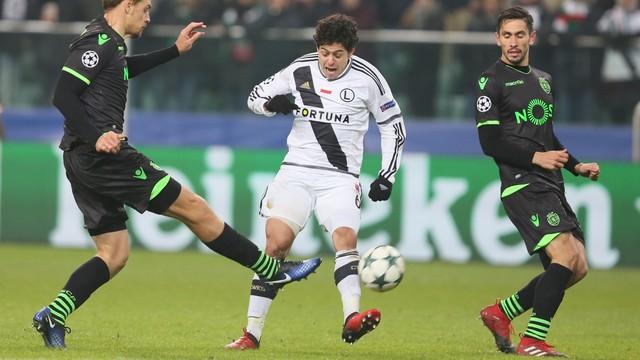 Legia pokonała Sporting i zagra w Lidze Europejskiej