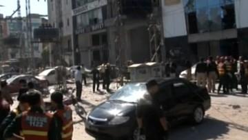 23-02-2017 10:05 Pięć osób zginęło w wybuchu bomby w Lahaurze