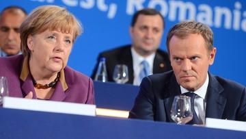 """05-03-2016 20:42 Przed szczytem UE-Turcja: """"Tusk po raz pierwszy mówi coś innego niż Merkel"""""""