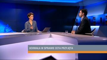 Tyszka o umowie CETA: olbrzymie zagrożenie dla rolnictwa i przedsiębiorstw
