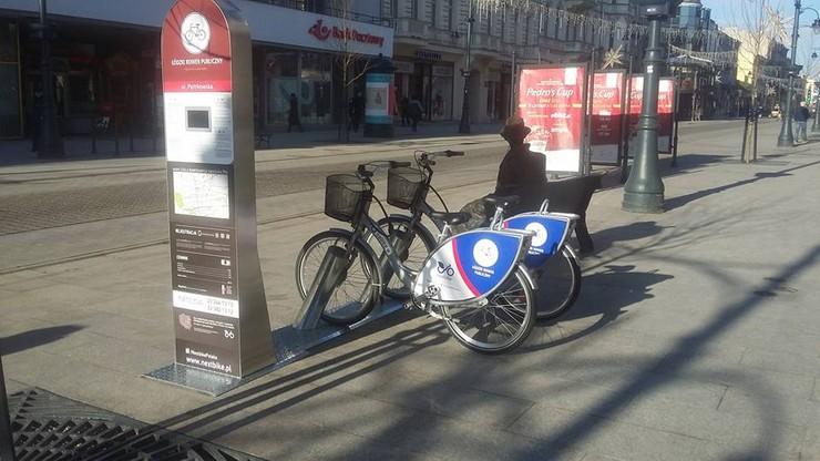 Łódź: tysiąc rowerów miejskich wiosną w stu stacjach