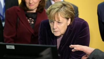 03-02-2016 22:17 Niemcy odwracają się od Merkel. Najniższe poparcie od prawie 5 lat