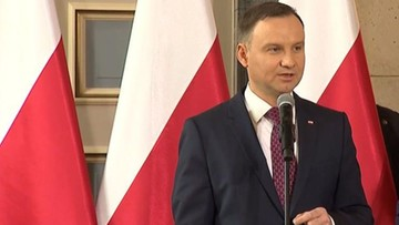 02-05-2017 10:56 Prezydent: dzisiaj dzieci i wnuki zdrajców Rzeczypospolitej zajmują wiele eksponowanych stanowisk