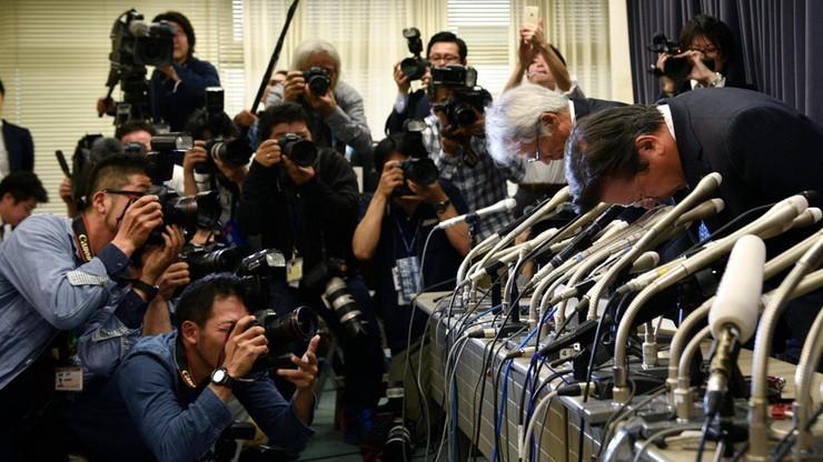 Zobacz jak szefowie Mitsubishi przeprosili za fałszowanie danych zużycia paliwa