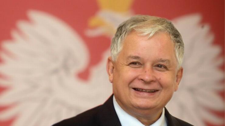 """""""Lech Kaczyński uczynił wiele dla pojednania między naszymi narodami"""". Odsłonięcie tablicy byłego prezydenta na Ukrainie"""
